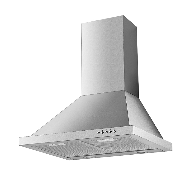Kingbright Pyramid Hood Inox 600mm P32