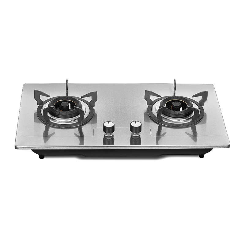 Kingbright Two Burner Hob Inox 720mm KQ2-S01